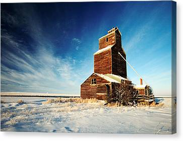 Granary Chill Canvas Print by Todd Klassy
