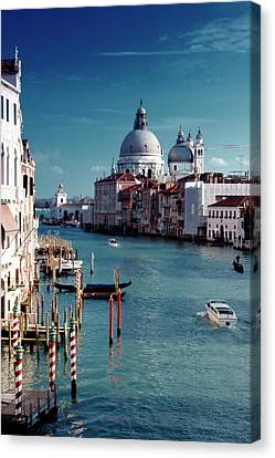Grand Canal Of Venice Canvas Print by Michelle O'Kane