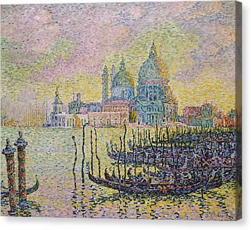 Italian Landscape Canvas Print - Grand Canal by Paul Signac
