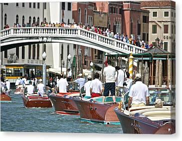 Portofino Italy Canvas Print - Grand Canal by Steven Lapkin