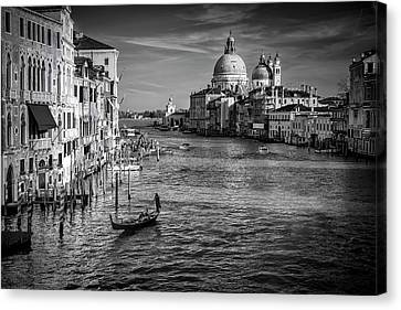 Grand Canal View Canvas Print