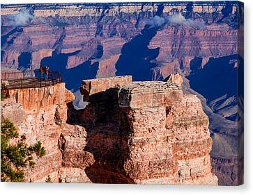 Canvas Print featuring the photograph Grand Canyon 16 by Donna Corless