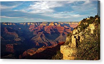 Grand Canyon No. 2 Canvas Print by Sandy Taylor
