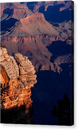 Canvas Print featuring the photograph Grand Canyon 24 by Donna Corless