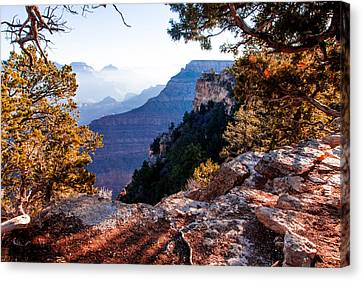 Canvas Print featuring the photograph Grand Canyon 26 by Donna Corless