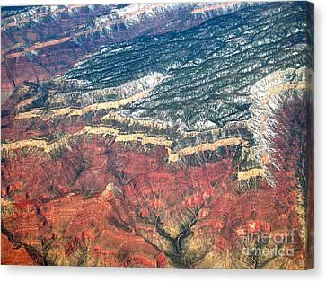 Grand Canyon 3 Canvas Print by Addie Hocynec