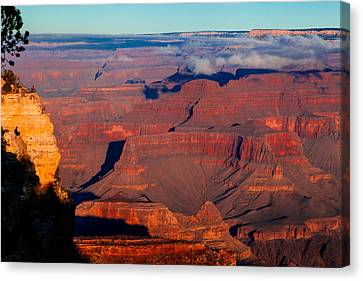 Canvas Print featuring the photograph Grand Canyon 32 by Donna Corless