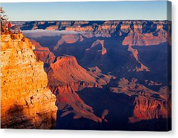 Canvas Print featuring the photograph Grand Canyon 35 by Donna Corless