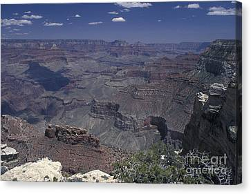Canvas Print featuring the photograph Grand Canyon 4 by Stan and Anne Foster