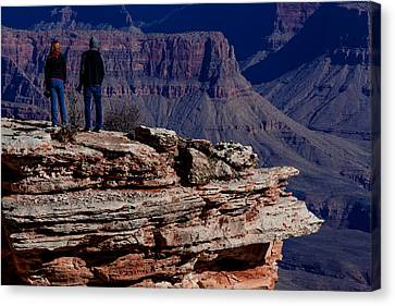 Canvas Print featuring the photograph Grand Canyon 5 by Donna Corless