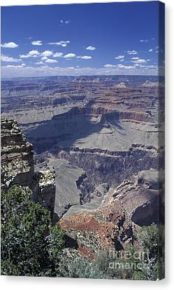 Canvas Print featuring the photograph Grand Canyon 5 by Stan and Anne Foster
