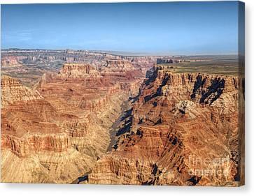 Grand Canyon Aerial View Canvas Print