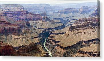 Grand Canyon And Colorado River 3 Of 5 Canvas Print by Gregory Scott