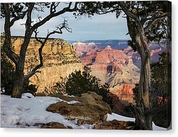 Grand Canyon At Sunrise Canvas Print