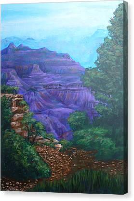 Grand Canyon Canvas Print by Bryan Bustard