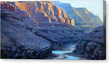Grand Canyon Dawns Canvas Print