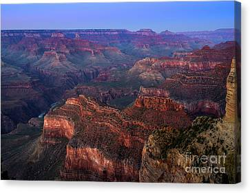 Grand Canyon Dusk Canvas Print by Jamie Pham