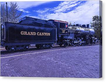 Grand Canyon Engine 539 Train Canvas Print by Garry Gay