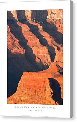 Grand Canyon Glow Canvas Print
