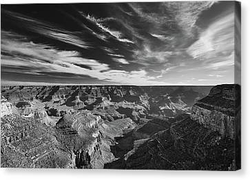 Grand Canyon In Motion Canvas Print
