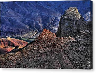 Grand Canyon Mystic Colors Canvas Print by Don Wolf