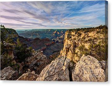 Grand Canyon National Park Spring Sunset Canvas Print