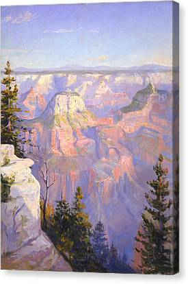 Grand Canyon North Rim Canvas Print by Lewis A Ramsey