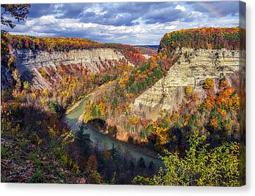 Grand Canyon Of The East Canvas Print by Mark Papke