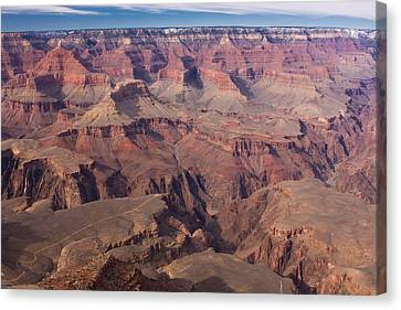 Canvas Print featuring the photograph Grand Canyon Overlook by Peter Skiba