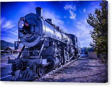 Old Trains Canvas Print - Grand Canyon Railway by Garry Gay