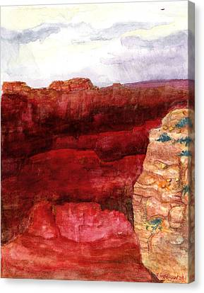 Grand Canyon S Rim Canvas Print by Eric Samuelson