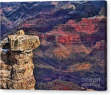 Grand Canyon Stacked Rock Canvas Print