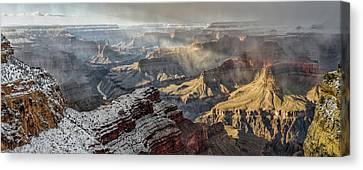 Grand Canyon Storm Canvas Print