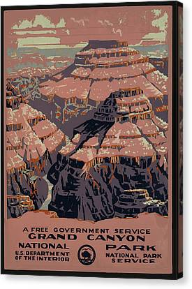 Grand Canyon Canvas Print by Unknown