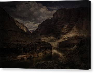 Canvas Print featuring the photograph Grand Canyon - West Rim by Ryan Photography