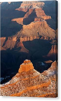 Grand Canyon Yaki Point Canvas Print