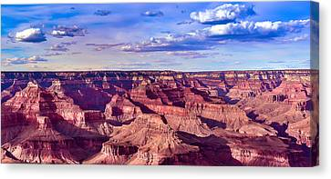Grand Canyons Mather Point Canvas Print by Abhay P