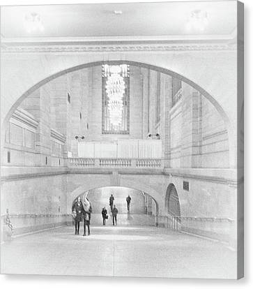 Canvas Print featuring the photograph Grand Central Station by Lora Lee Chapman