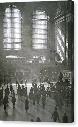 Grand Central Station, New York City, 1925 Canvas Print by American School