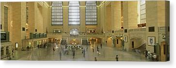Grand Central Station New York Ny Canvas Print by Panoramic Images