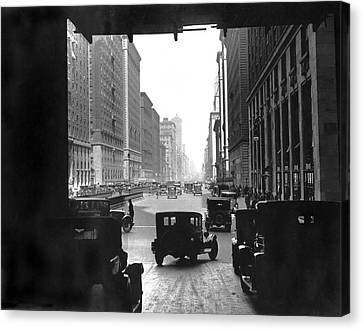 Grand Central Station Portal Canvas Print by Underwood Archives