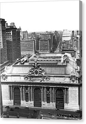 Grand Central Station Canvas Print by Underwood & Underwood