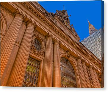 Chrysler Building Canvas Print - Grand Central Terminal - Chrysler Building by Susan Candelario