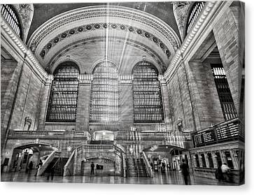Grand Central Terminal Station Canvas Print by Susan Candelario