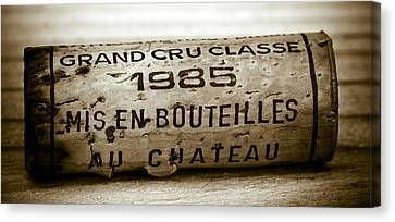 Beaujolais Canvas Print - Grand Cru Classe 1985 by Frank Tschakert