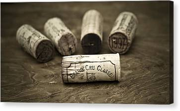 Grand Cru Classe Canvas Print by Frank Tschakert