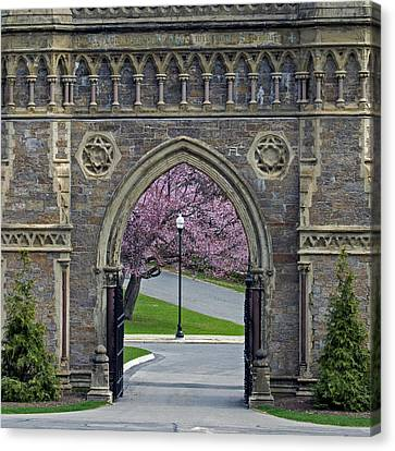 Grand Entrance Canvas Print by Stephen Flint