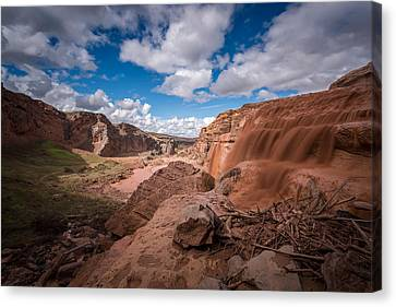 The Grand Place Canvas Print - Grand Falls #3 by Jon Manjeot