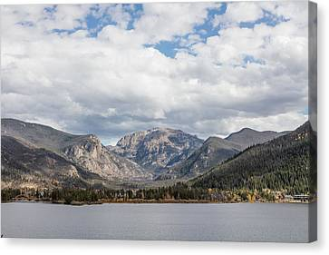 Canvas Print featuring the photograph Grand Lake -- Largest Body Of Water In Colorado by Carol M Highsmith