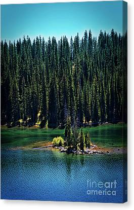 Counry Canvas Print - Grand Mesa Emerald Isle by Janice Rae Pariza